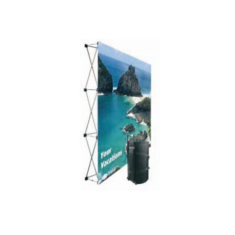 Murs promotionnels modèle droit - velcro