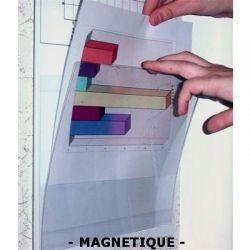 Modèle magnétique portefeuille - Porte-documentation