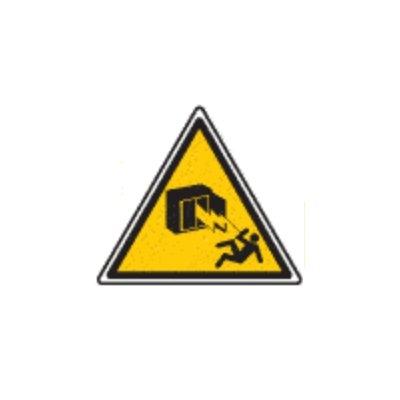 Armoire Sous Tension Panneau Danger Electrique Triangulaire