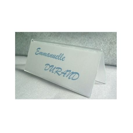 Chevalet PVC rigide
