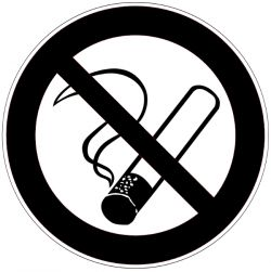 Interdit de fumer - Signalétique adhésive