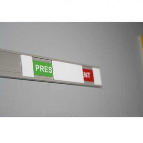 Modèle Présent/Absent ou Libre/Occupé, Plaques de porte