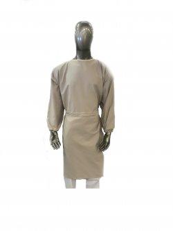 Sur-blouse lavable beige